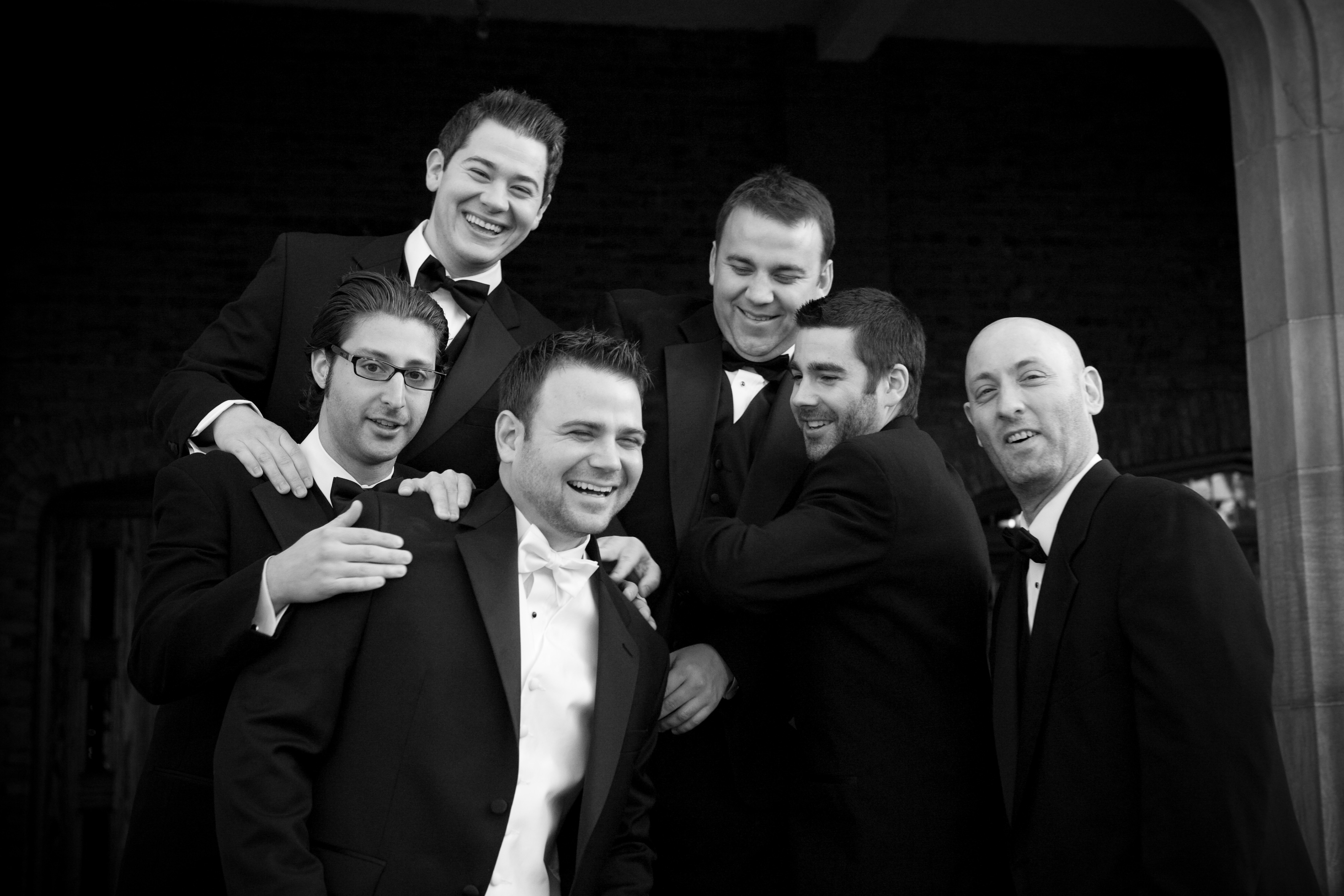 Groomsmen, Groom, Party, Bridal