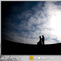 Bride, Groom, And, Ed pingol photography, Aftershoot, Silhoutte