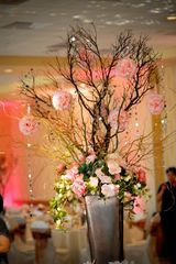 Reception, Flowers & Decor, Decor, pink, Centerpieces, Flowers, Centerpiece