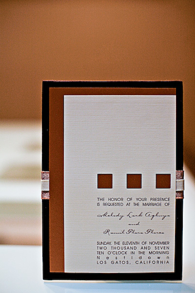 Stationery, orange, brown, Invitations, Studio ayt