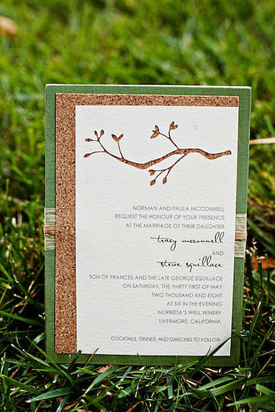Stationery, green, brown, Garden Wedding Invitations, Rustic Wedding Invitations, Invitations, Studio ayt