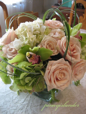 Flowers & Decor, Centerpieces, Flowers, Roses, Centerpiece, Hydrangea