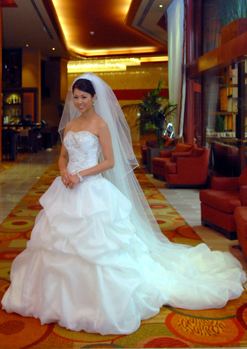 Wedding Dresses, Veils, Fashion, ivory, dress, Veil, Train, Long, Strapless, Strapless Wedding Dresses