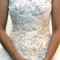 Wedding Dresses, Fashion, ivory, dress, Strapless, Strapless Wedding Dresses, Beadings