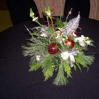 Centerpiece, Christmas, The flower alley