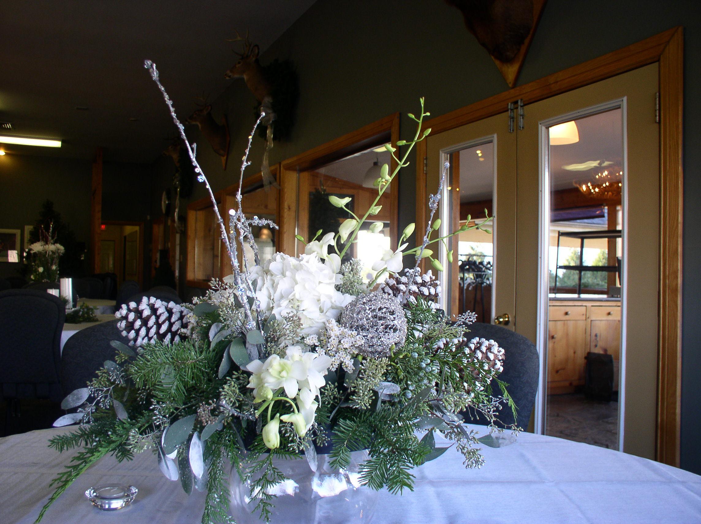 Flowers & Decor, Centerpieces, Winter, Flower, The flower alley