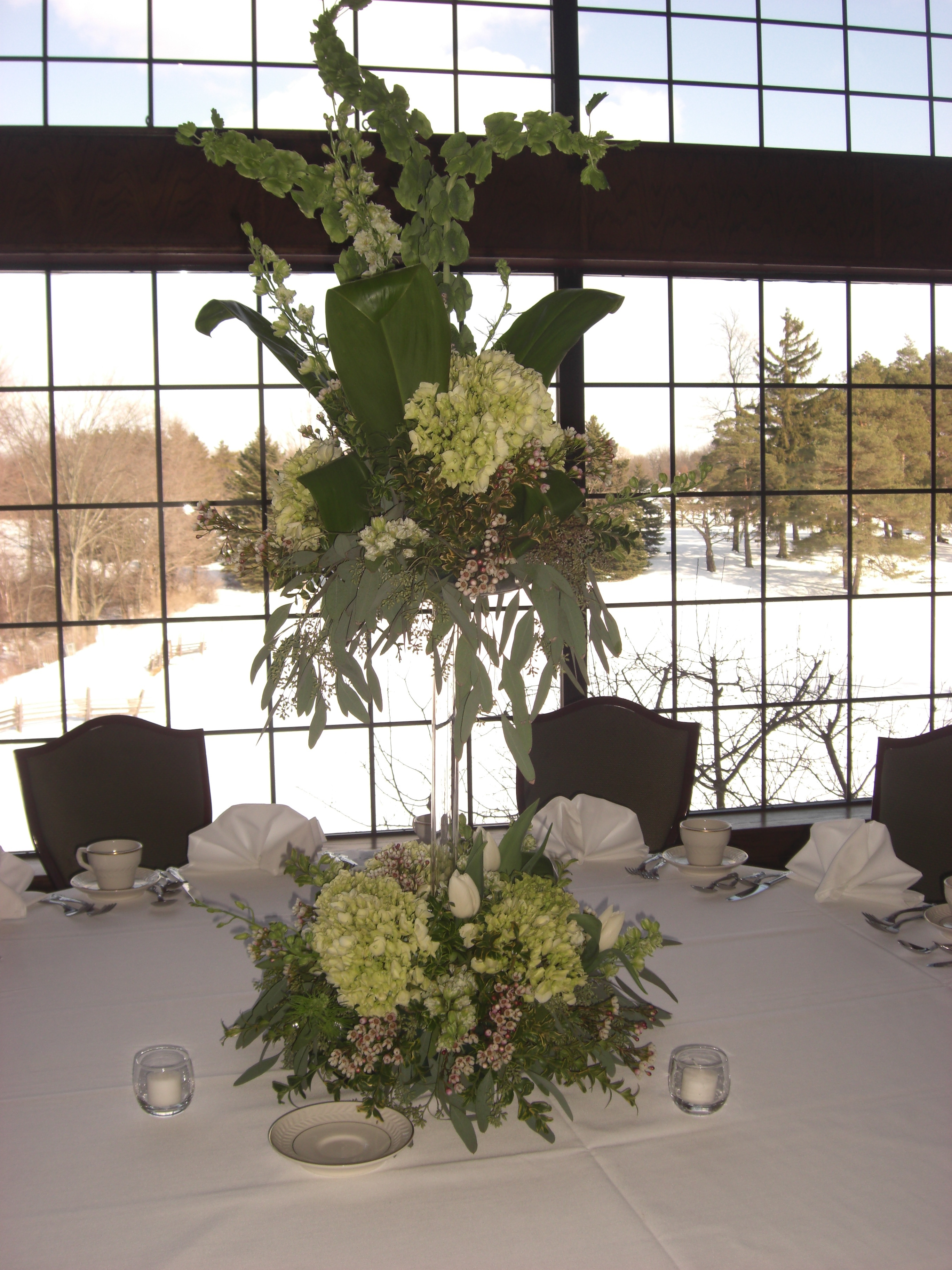 Centerpiece, Table, Head, The flower alley