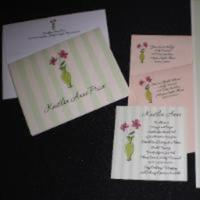 Calligraphy, Stationery, Invitations, Bridal, Shower, Arlington, Traces of heaven gift bandit, Heights