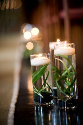 Reception, Flowers & Decor, Decor, white, green, Candles