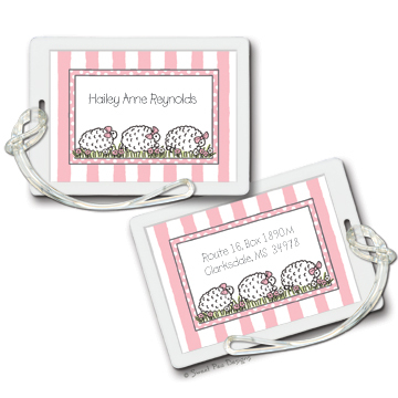 Stationery, Invitations, Sweet, Designs, Luggage, Tags, Bag, Personalized, Chicago, Arlington, Traces of heaven gift bandit, Heights, Pea, Id, Diaper, Tages