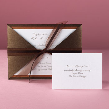 Invitations, Bridal, Weddings, Chicago, Traces of heaven gift bandit, Elite, Stationery
