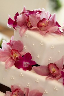 Reception, Flowers & Decor, Cakes, cake, Garden Wedding Cakes, Flowers
