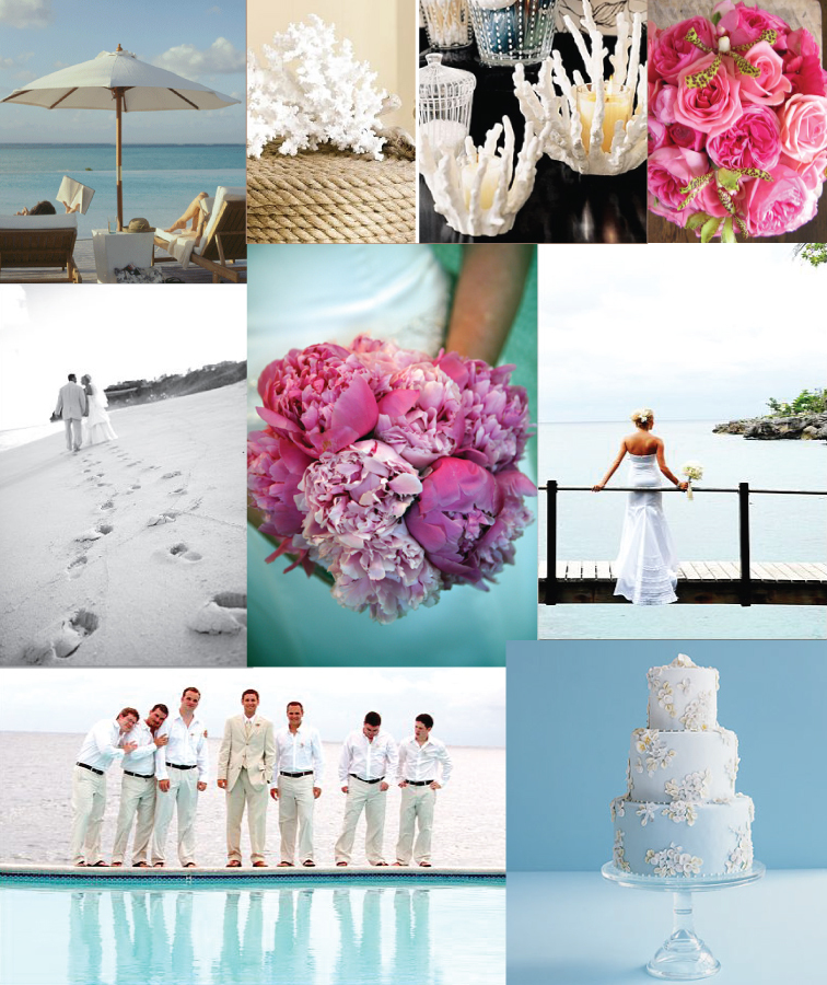 Inspiration, pink, blue, Beach, Teal, Ocean, Board