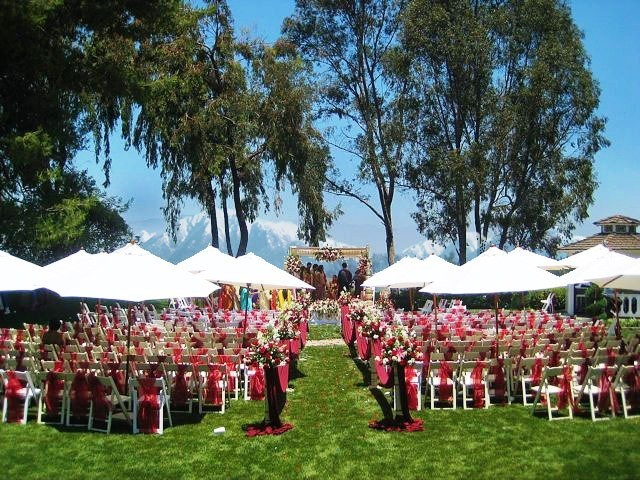 Ceremony, Flowers & Decor, Outdoor, Wedding, Pacific palms resort