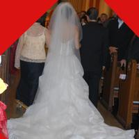 Veils, Fashion, ivory, Veil, Wedding dress