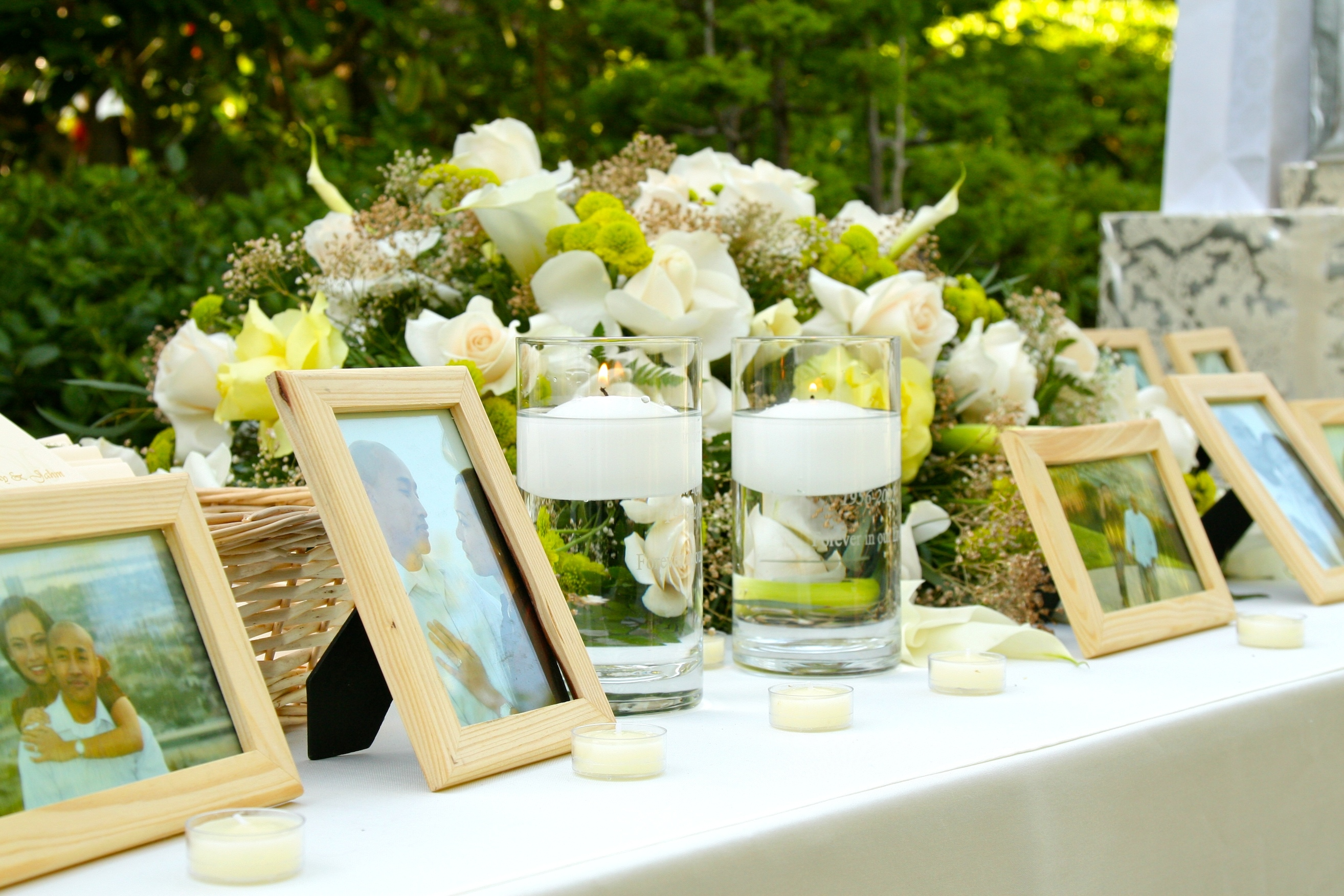 Ceremony, Flowers & Decor, Candles, Memorial
