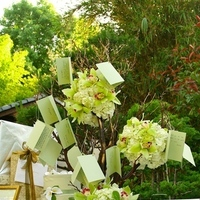 green, Ceremony Flowers, Garden Wedding Flowers & Decor, Modern Wedding Flowers & Decor