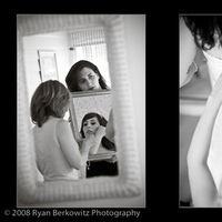 Wedding Dresses, Fashion, dress, Bride, Getting ready, Mirror, Ryan berkowitz photography, Candid shots