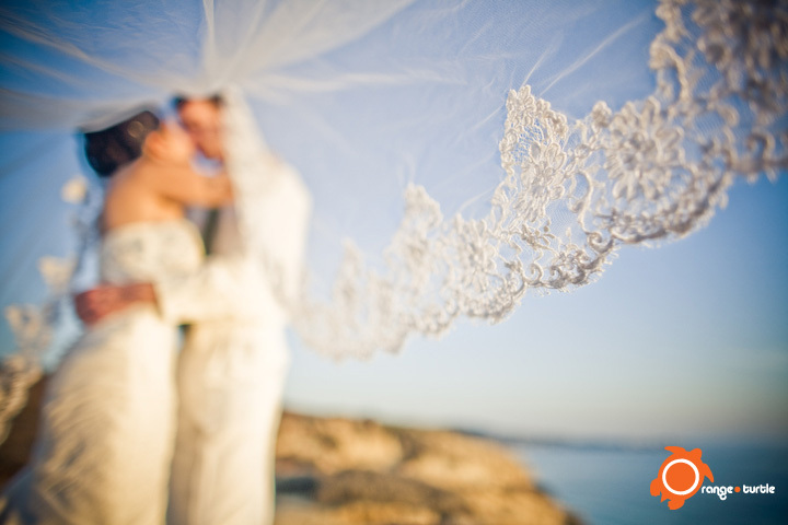 Veils, Fashion, Bride, Groom, Veil, Wedding, Orange turtle photography