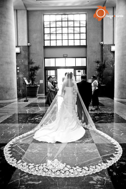 Ceremony, Flowers & Decor, Veils, Fashion, Bride, Veil, Orange turtle photography