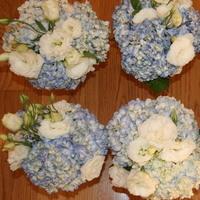Flowers & Decor, white, blue, green, Bride Bouquets, Flowers, Bouquet, Unique, Floral, Designer, Design, Florist, Maria, Masterson