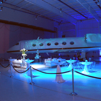 Reception, Flowers & Decor, In, Hangar