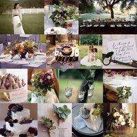 Inspiration, Reception, Flowers & Decor, Decor, purple, green, Rustic, Rustic Wedding Flowers & Decor, Board, Country