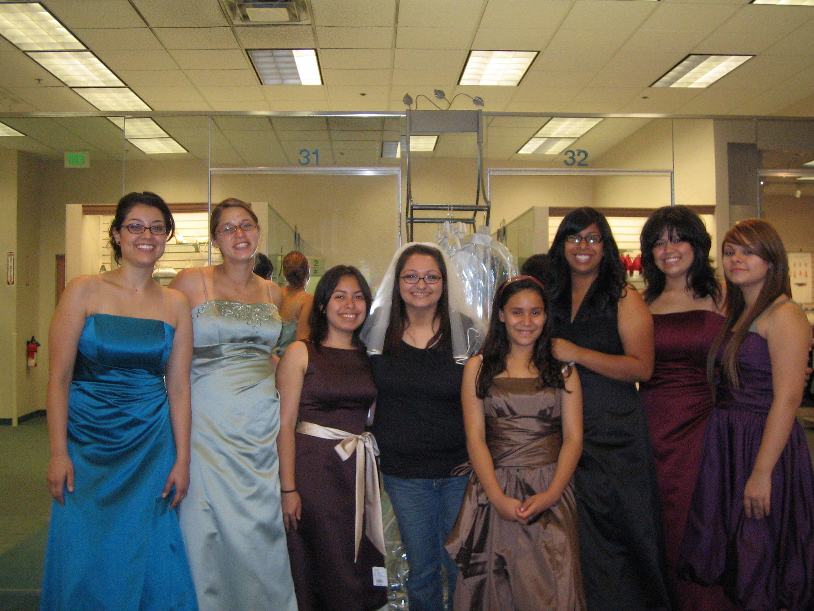 Bridesmaid, Dreses