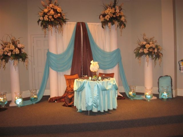 Flowers & Decor, Centerpieces, Flowers, Centerpiece, Wedding, Backdrop, Uniquely arranged decor