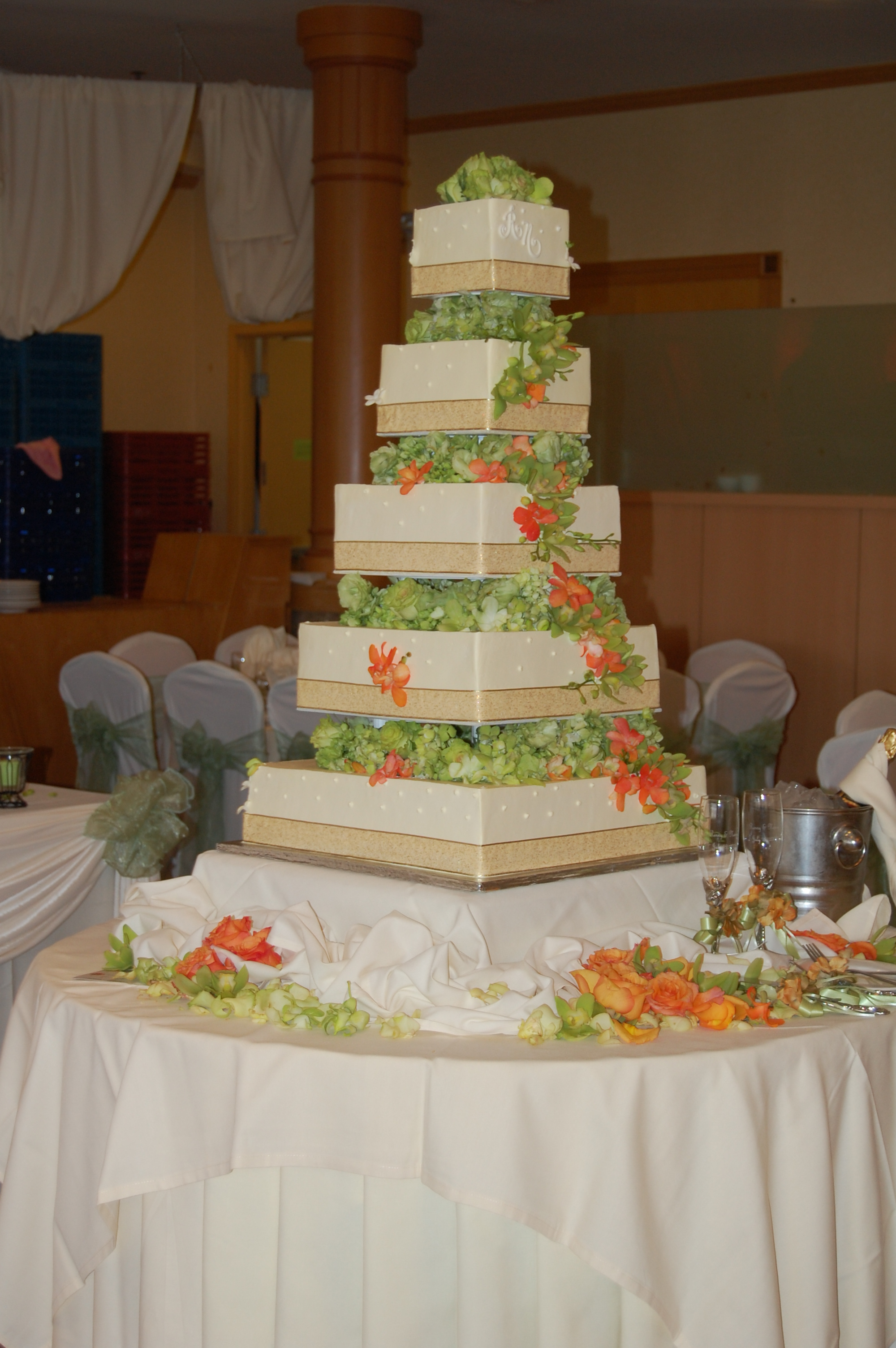 Flowers & Decor, Cakes, cake, Flower, Events by karen lee