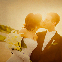 yellow, Kiss, Kissing, Romance, Lorraine daley wedding photography, Dreamy