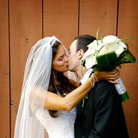 Flowers & Decor, Bride Bouquets, Bride, Flowers, Bouquet, Groom, Calla, Lilies, Kissing, Lorraine daley wedding photography