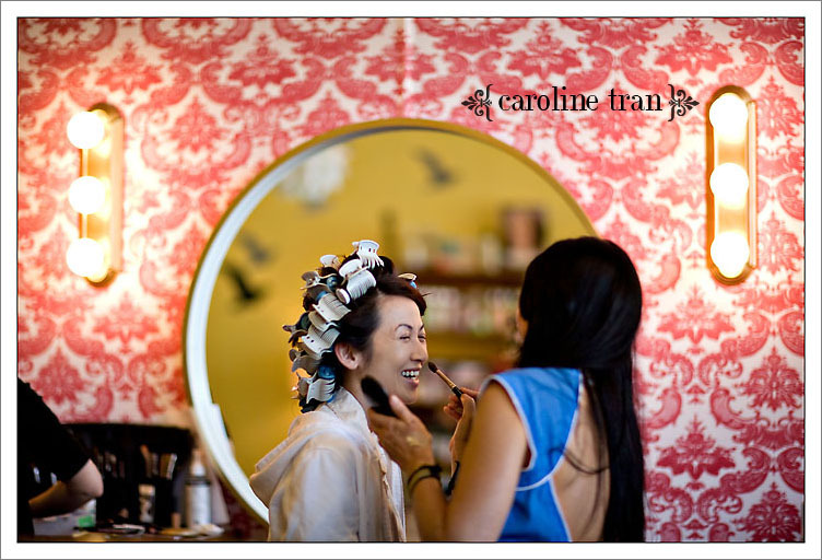 Beauty, Makeup, Bride, Caroline tran