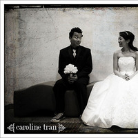 Bride, Groom, Caroline tran