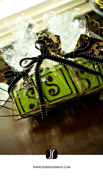 Favors & Gifts, Favors, Cookies, Monogram