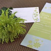 Stationery, Garden Wedding Invitations, Invitations, Wedding, Unique, I do design - wedding invitations