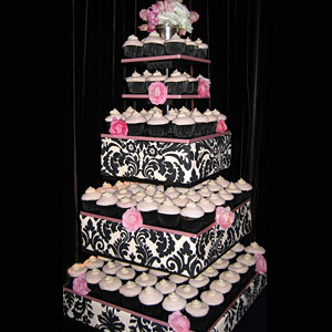 Cakes, cake, Stand, Damask