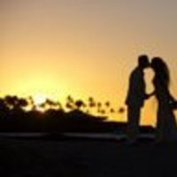 Wedding Dresses, Fashion, yellow, dress, Hawaiian, Sunset
