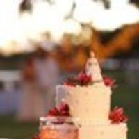 Cakes, red, cake, Orchids, Topper