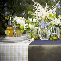 Flowers & Decor, ivory, green, Garden, Flowers, Garden Wedding Flowers & Decor, Plaid, The, In, Design, Event, Silk, Now, Soft