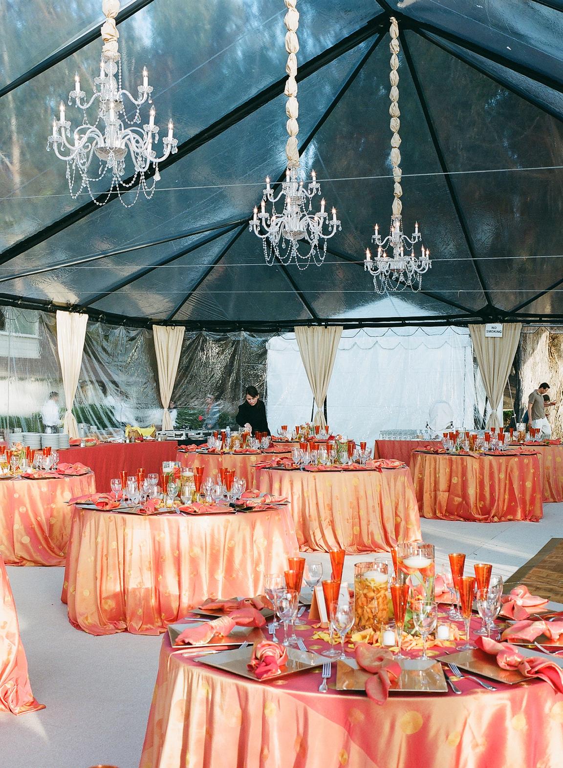 orange, Glam Wedding Flowers & Decor, Summer Wedding Flowers & Decor