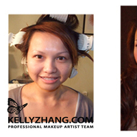 Beauty, Makeup, Bride, Hair, Kelly zhang make up artists and hair stylists team