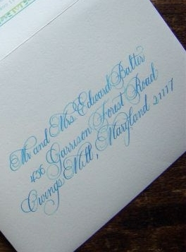 Calligraphy, Stationery, Invitations, Place Cards, Laura hooper calligraphy, Placecards, Envelopes