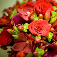 Flowers & Decor, red, Bride Bouquets, Bridesmaid Bouquets, Flowers, Bouquet, Bridesmaid, Megan haney designs
