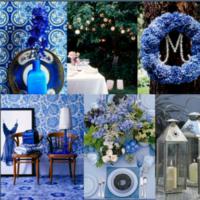 Inspiration, Flowers & Decor, Decor, white, blue, Flowers, Board