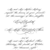 Calligraphy, Stationery, invitation, Invitations, E danae art calligraphy