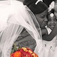 Flower girl, Black and white, Children, Candid, Wayne tam photography