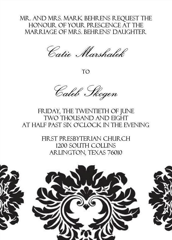 DIY, Stationery, invitation, Invitations