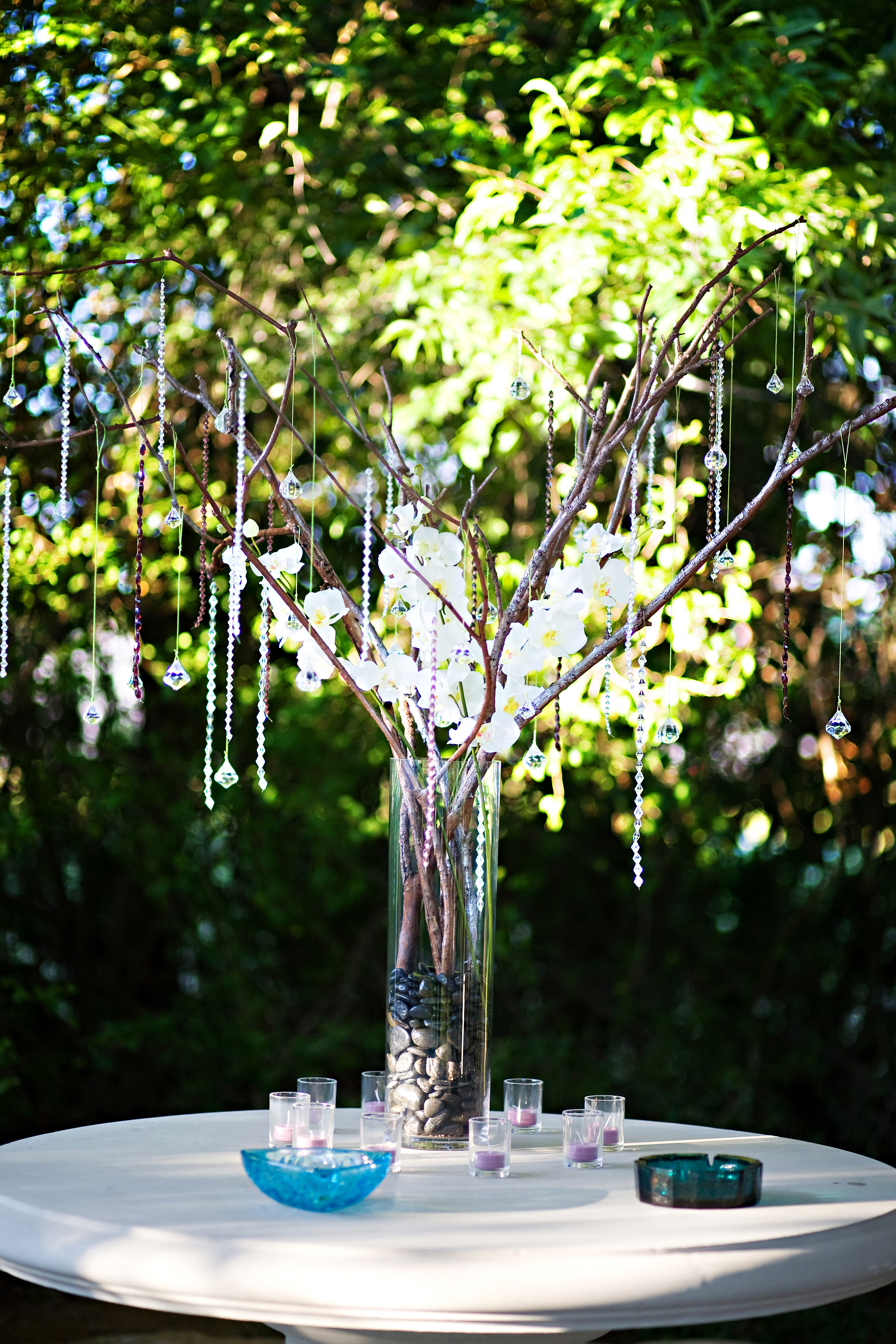 Reception, Flowers & Decor, Centerpieces, Centerpiece, Branches, Lounge