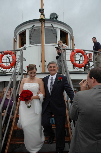 Ceremony, Flowers & Decor, Destinations, Cruise, Bride, Boat, Ship, Virginia v steamship